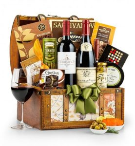 Wine and Gourmet Gift Baskets