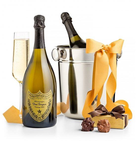 Dom-Perignon-Champagne-and-Chiller-Gift