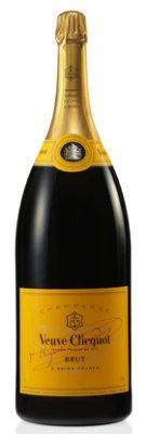 Veuve Clicquot Champagne Bottle