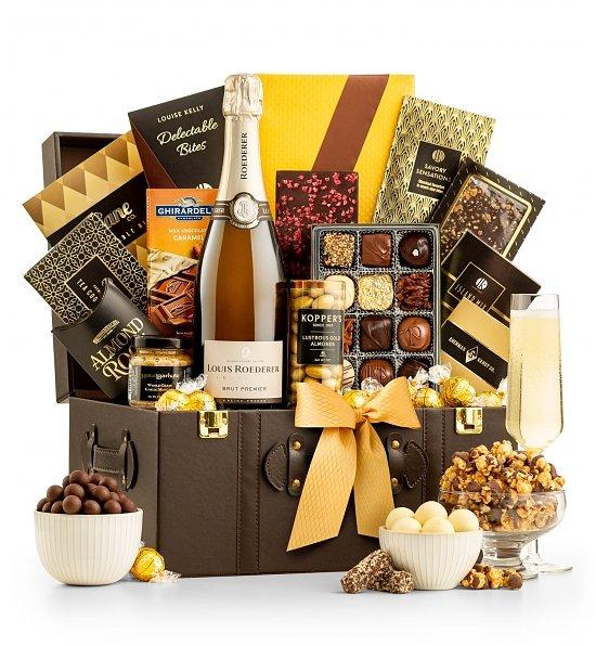 Louis-Roederer-Champagne-Gift-Basket