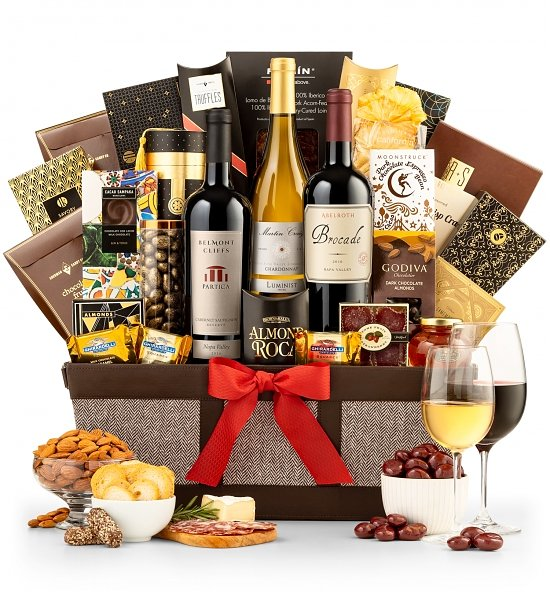 Buy Fine Wine Gift Baskets Online