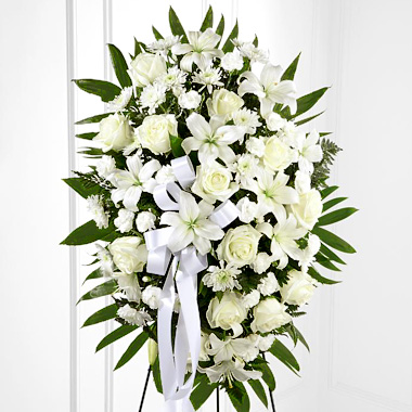 Floral Funeral Spray Arrangement