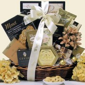 Memories of Love Sympathy Gourmet Gift Basket
