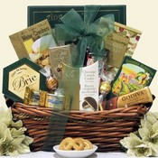 Golden Gourmet Goodness Gift Basket