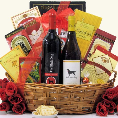 Two Black Dogs Wine Gift