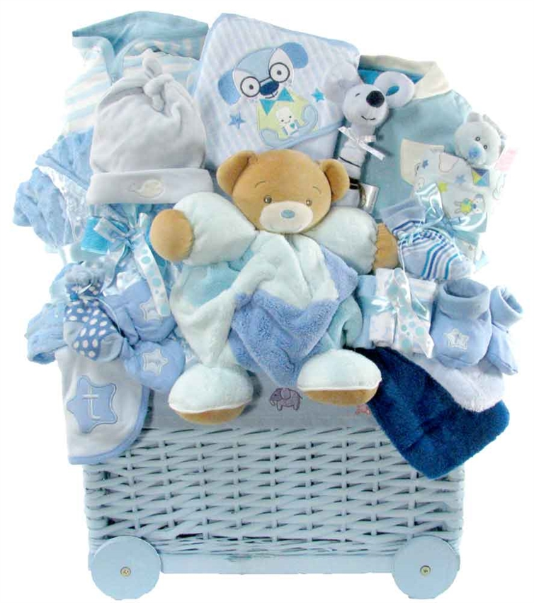 Baby Gift Baskets Canada : His first of everything kaloo toy chest baby boys gift