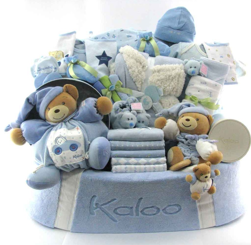 Baby Gift Baskets Canada : Kaloo baby gift baskets