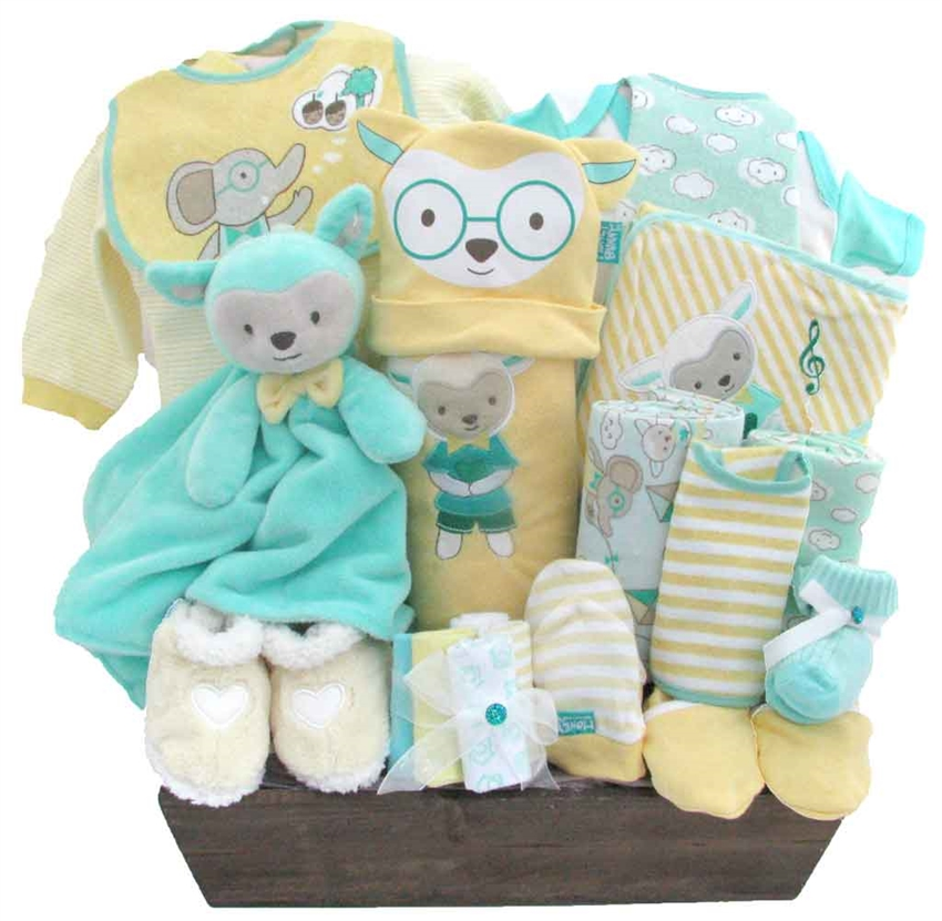 Bath Time Fun Baby Boys Gift Basket - Personalize