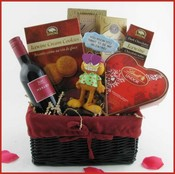 You Know You Want Me Valentine's Day Gift Basket ~ FREE SHIP CANADA