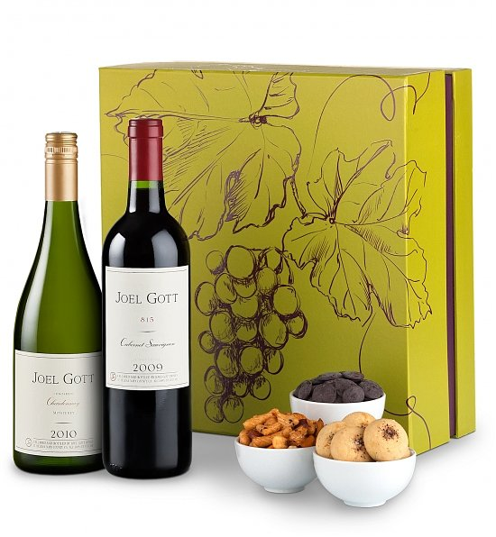Joel Gott Napa Valley White & Red Wine Gift Set