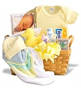 Classic Welcome Home Baby Gift Basket