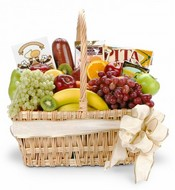 Epic Fruit & Gourmet Gift Basket ~ 3 Sizes Available