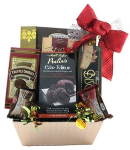 Chocolate Treats Gourmet Gift Basket