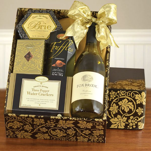 Foxbrook White Gift Box
