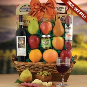 Chianti & Fresh Fruit