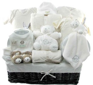 Neutral Baby Gift Baskets Canada