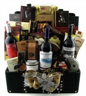 Multiple Wine Bottles Gift Baskets Canada